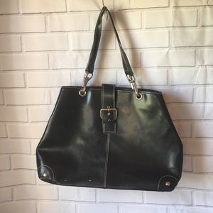 Wilsons Leather Pelle Studio tote black bag